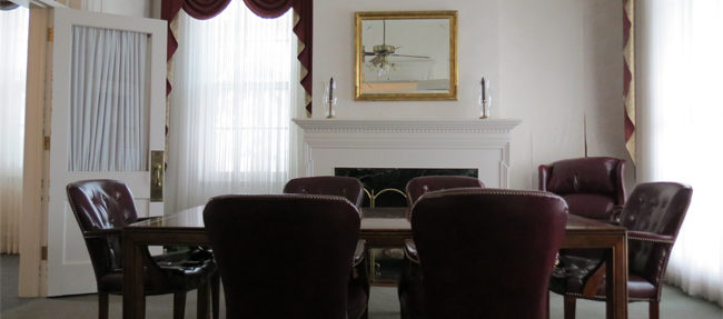BEFORE: A parlor on the main floor
