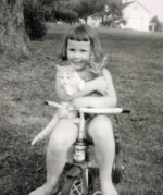 Cathie With Cats Cropped